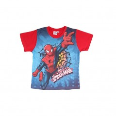 Tee-shirt Manches Courtes Spiderman