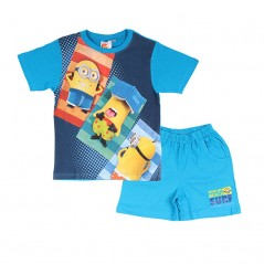 Pyjama Court Tee-Shirt Short Minions Surf