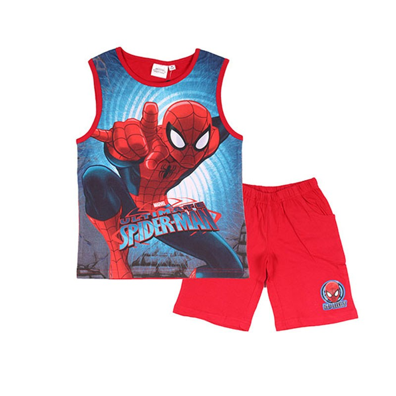 Ensemble Débardeur / Short Spiderman