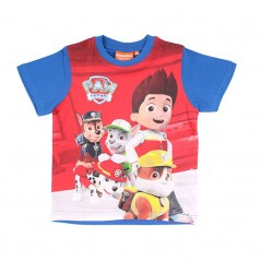 Tee-Shirt Manches Courtes Paw Patrol