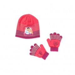 Ensemble Bonnet / Gants Princesses Disney