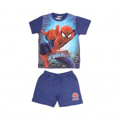 Ensemble Tee-Shirt / Short Spiderman