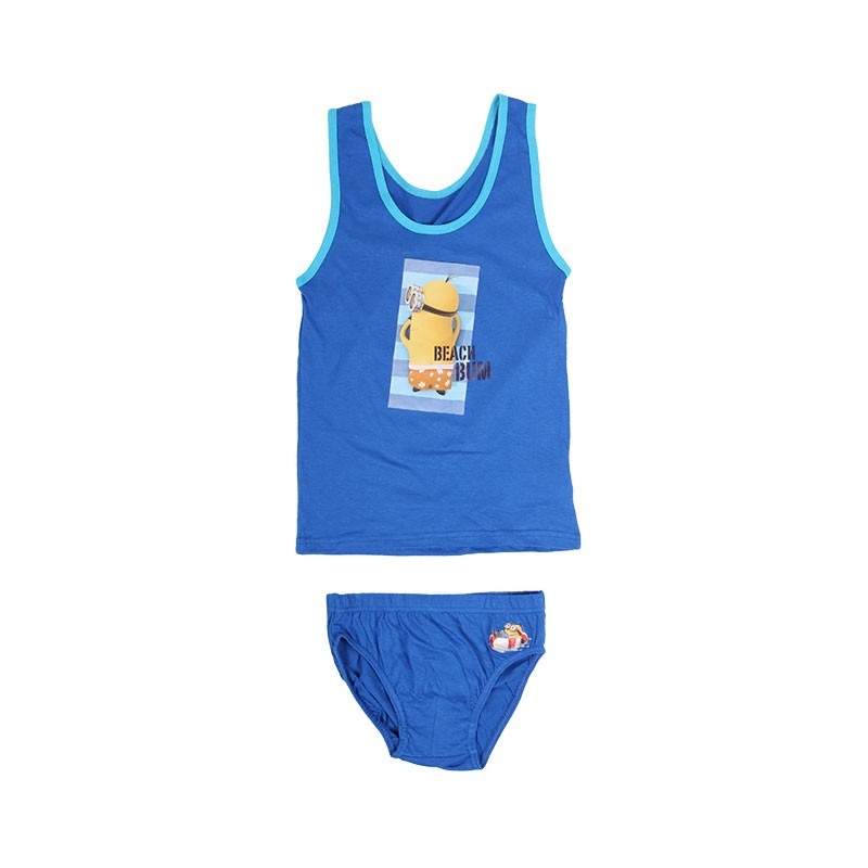 Ensemble Débardeur / Short Minions Beach Bum