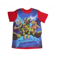 Tee-Shirt Manches Courtes Tortues Ninja Dimension X