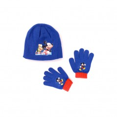 Ensemble Bonnet / Gants Mickey