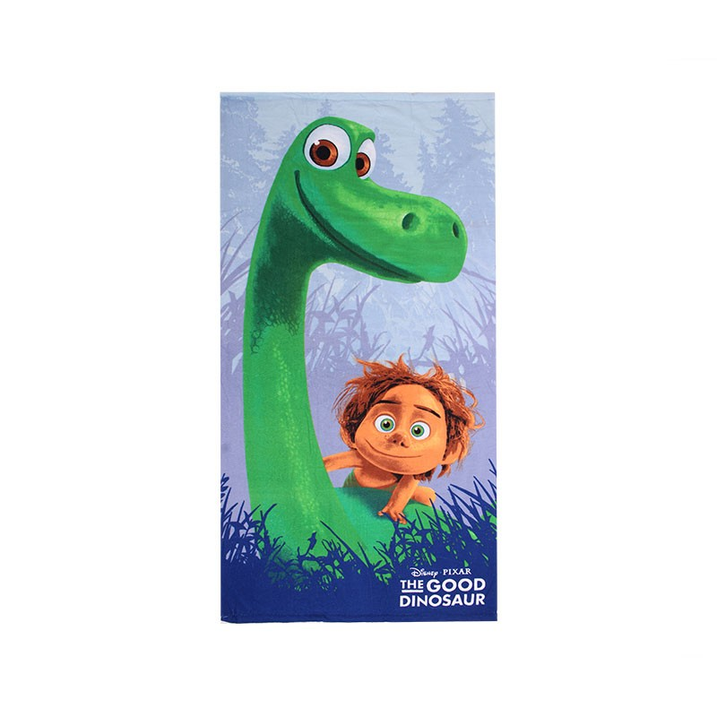 Serviette de plage The good dinosaure