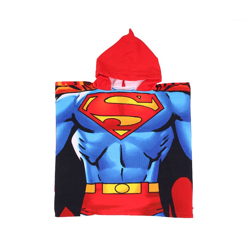 Poncho de bain Superman