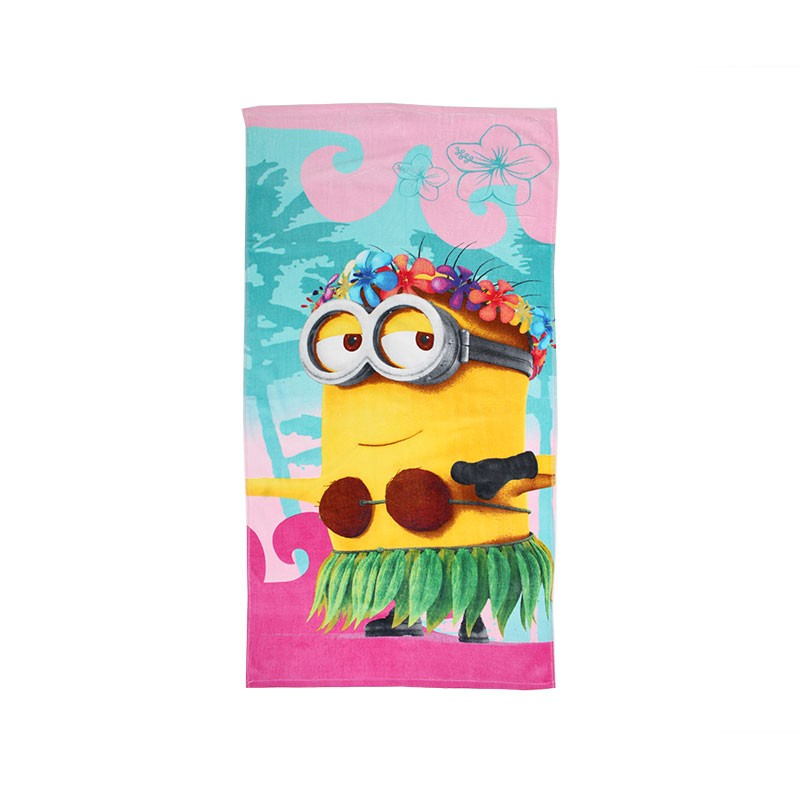 serviette de plage minions. Black Bedroom Furniture Sets. Home Design Ideas