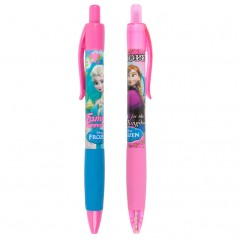 Lot de 2 Stylos à Bille La Reine des Neiges