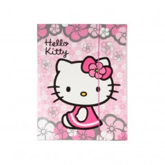Pochette Elastique Hello Kitty Rose