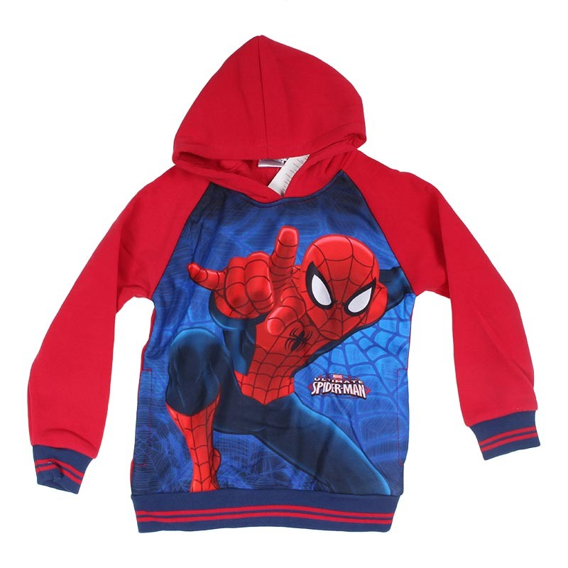 Sweat à Capuche Spiderman