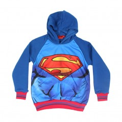 Sweat à Capuche Superman Batman