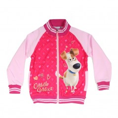 Sweat zippé Secret Life of Pets Fille