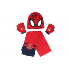 Ensemble de Bonnet Gants Echarpe Spiderman