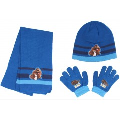 Ensemble de Gants Bonnet Echarpe Secret Life of Pets