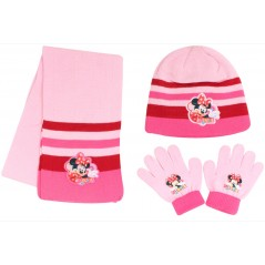 Ensemble de Bonnet Gants Echarpe Minnie