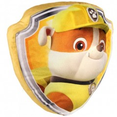 Coussin 3D Velours Paw Patrol Rubble