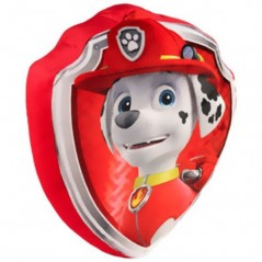 Coussin 3D Velours Paw Patrol Marshall