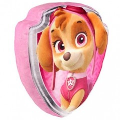 Coussin 3D Velours Paw Patrol Skye
