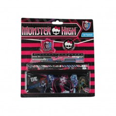 Set Papeterie 6 pièces Monster High
