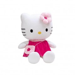 Peluche Hello Kitty 40 cm et son Sac à Main