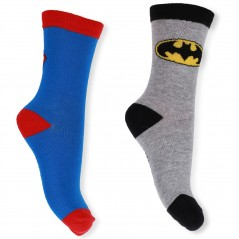 Lot De 3 Paires De Chaussettes Superman et Batman
