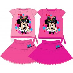 Ensemble T-shirt et jupe Minnie Disney