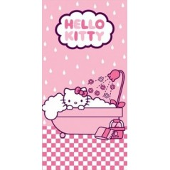 Serviette de Plage Bain Hello Kitty