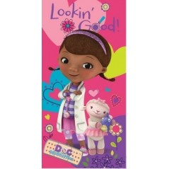Serviette de Plage Doc Mc Stuffins