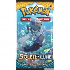 Boosters Pokémon contiennent 10 cartes issues de l'extension Soleil & Lune 1