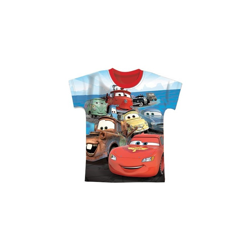 T-shirt Manches Courtes Cars Disney