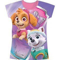 Tee-Shirt Manches Courtes Paw patrol - Pat patrouille - Fille