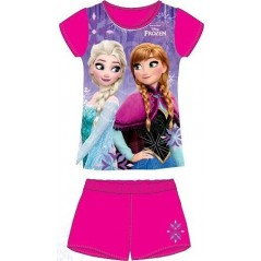 Ensemble Tee-Shirt Short La Reine des Neiges