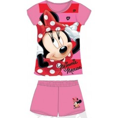 Pyjama Court Minnie - Rose