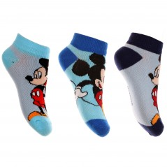 Lot de 3 Paires Socquettes Mickey Disney