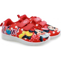 Baskets Minnie Disney - Rouge
