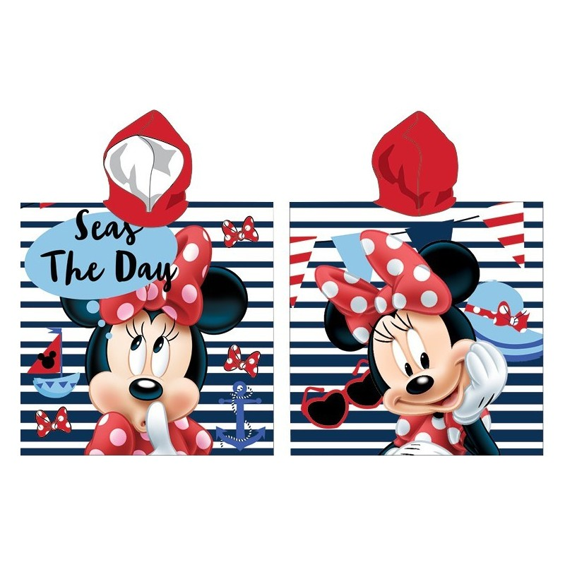 Poncho de bain Minnie Disney