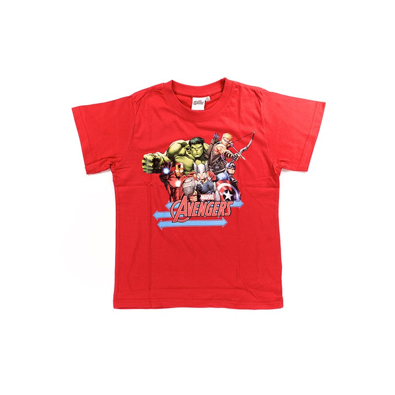 Tee-Shirt Manches Courtes Avengers