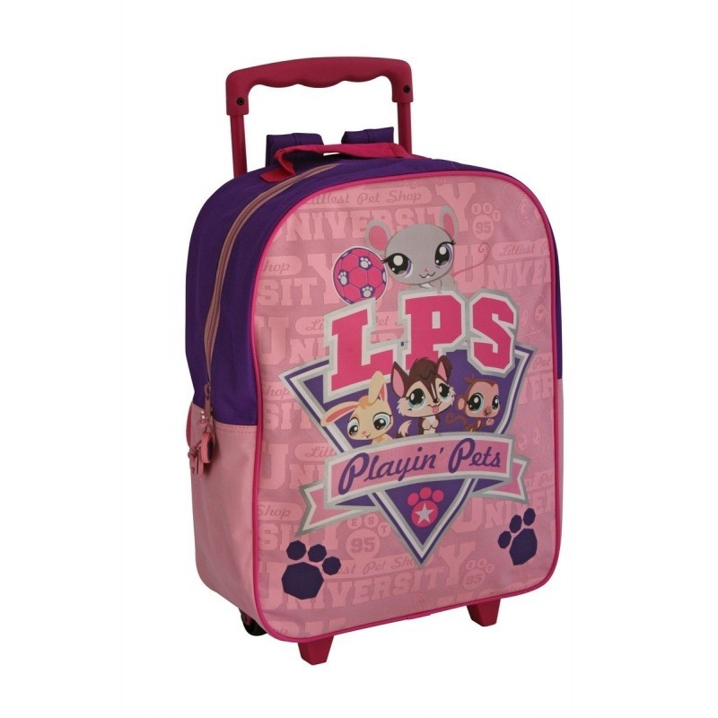 Trolley sac à dos pet shop grand modèle - 38 cm