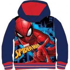 Sweat à Capuche Spiderman Marvel - Marine