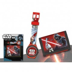 Set Montre et Portefeuille Star Wars