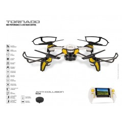 Ultra Drone Tornado 33 cm avec camera orientable