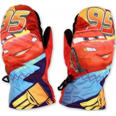 Gants - Moufle de ski Cars Disney - Rouge
