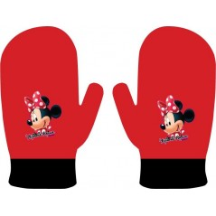 Moufle Gants Minnie - Rouge