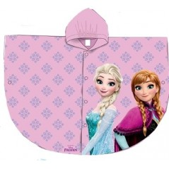 Imperméable Frozen Disney - La reine des neiges - Rose