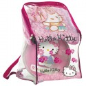 Poncho et Ballon Hello Kitty