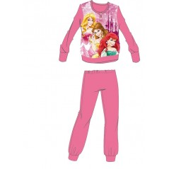 L'ensemble pyjama polaire Princesses - Rose