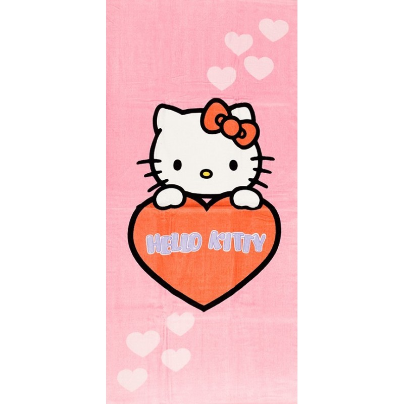 Drap de Plage Hello Kitty