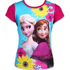 T-Shirt La Reine des Neiges - Rouge