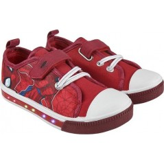 Baskets Spiderman - LED Lumineux - Chaussures Lumineux pour Garcon Spiderman